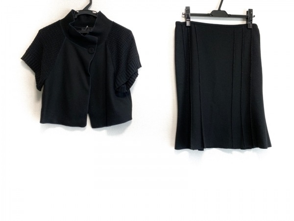 UNTITLED(アンタイトル) スカートセットアップ レディース 黒