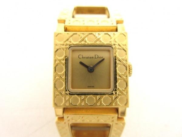 ディオール 腕時計美品  ラ・パリジェンヌ D60-159 レディース ゴールド