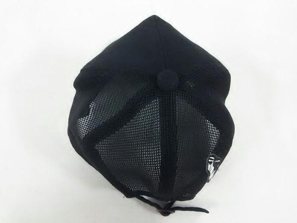 CA4LA(カシラ) キャップ 黒 ポリエステル×ナイロン×レーヨン