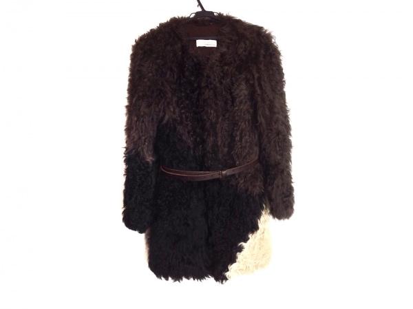 スプラングフレール コート サイズXS レディース 冬物/ファー/collection plume