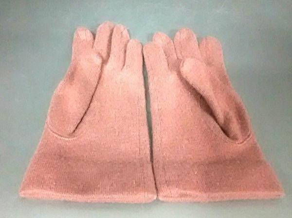 FURLA(フルラ) 手袋 レディース ピンク ウール 3