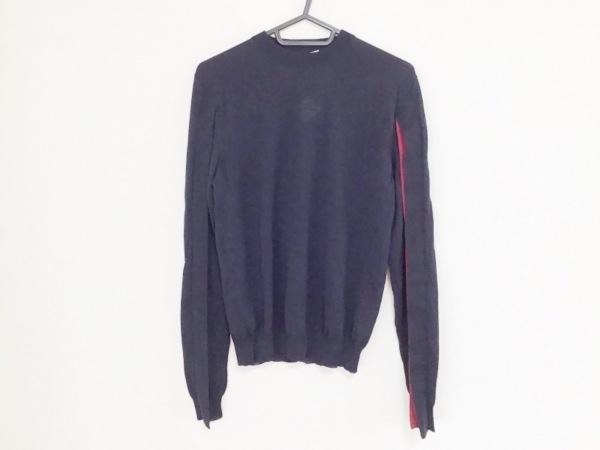 JILSANDER(ジルサンダー) 長袖セーター サイズ34 XS レディース ネイビー×パープル