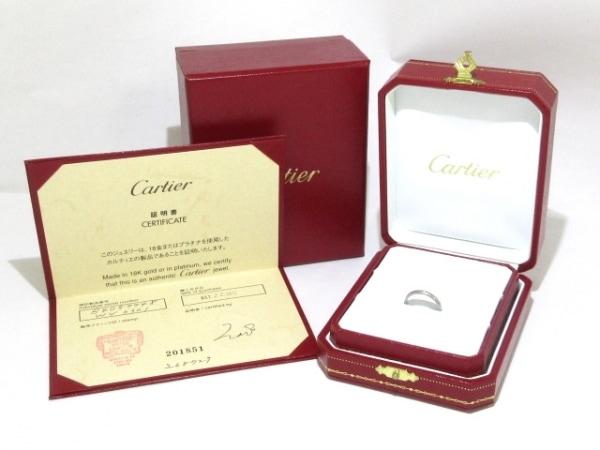 Cartier(カルティエ) リング 48美品  - B4057748 Pt950×ダイヤモンド
