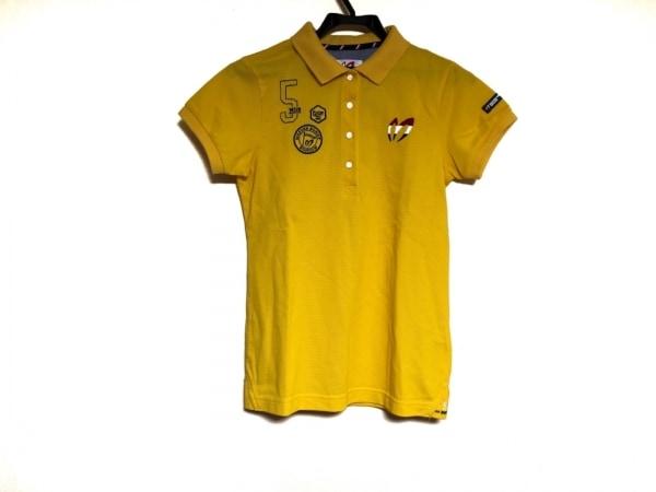 マスターバニーエディション 半袖ポロシャツ サイズ1 S レディース イエロー 刺繍