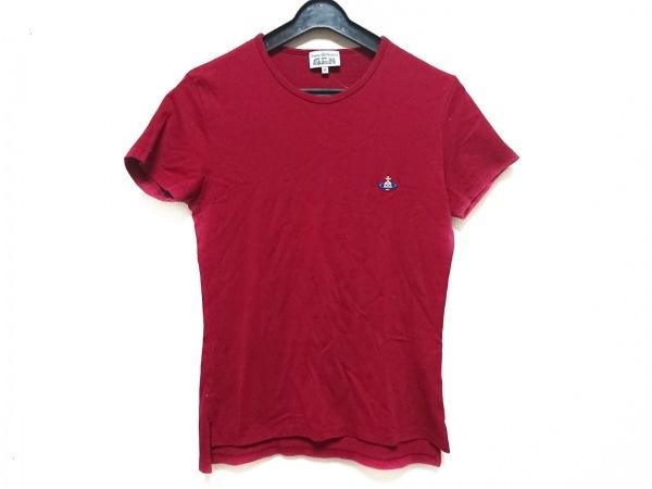 ヴィヴィアンウエストウッドマン 半袖Tシャツ サイズ46 XL メンズ レッド オーブ