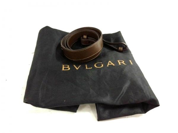 BVLGARI(ブルガリ) ハンドバッグ イザベラ・ロッセリーニ ダークブラウン レザー