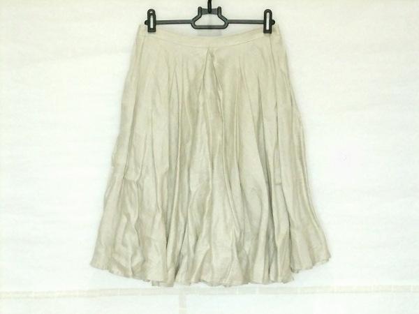 PAGANINI(パガニーニ) スカート サイズ36 S レディース アイボリー