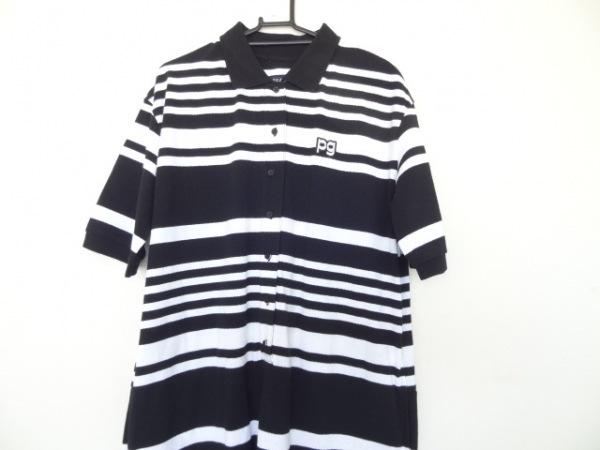 PEARLY GATES(パーリーゲイツ) オールインワン サイズ1 S レディース美品  黒×白