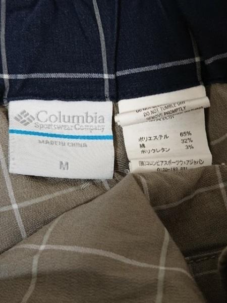 columbia(コロンビア) ショートパンツ サイズM レディース美品  カーキ×ライトグレー