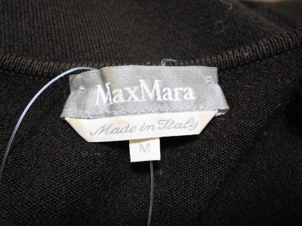 Max Mara(マックスマーラ) 七分袖セーター サイズM レディース ダークブラウン