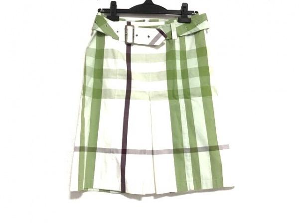 バーバリーロンドン スカート サイズ36 M レディース美品  チェック柄