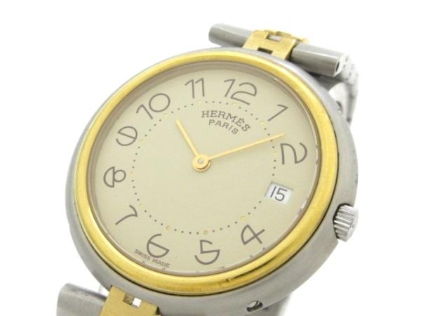 HERMES(エルメス) 腕時計 プロフィール - レディース ベージュ