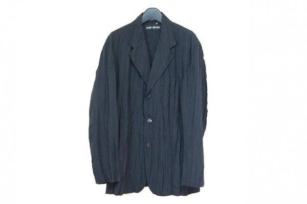 ISSEYMIYAKE(イッセイミヤケ) 長袖シャツ サイズ2 M メンズ美品  黒 シワ加工