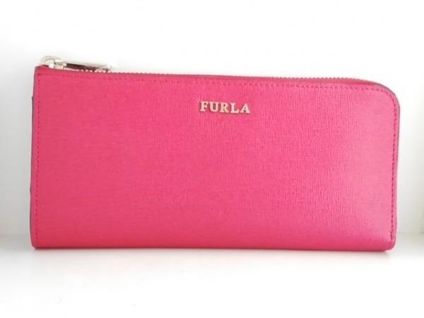 3832ff4675c6 FURLA(フルラ) 長財布 レッド L字ファスナー レザーの中古 | FURLA ...