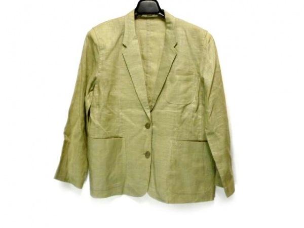 DAKS(ダックス) ジャケット サイズ9AB2 レディース ライトグリーン