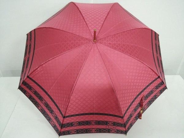 e0af08500b0b CELINE(セリーヌ) 傘 ピンク×黒 ナイロン×プラスチックの中古 | CELINE ...
