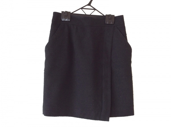 Pinky&Dianne(ピンキー&ダイアン) スカート サイズ38 M レディース 黒 ラメ
