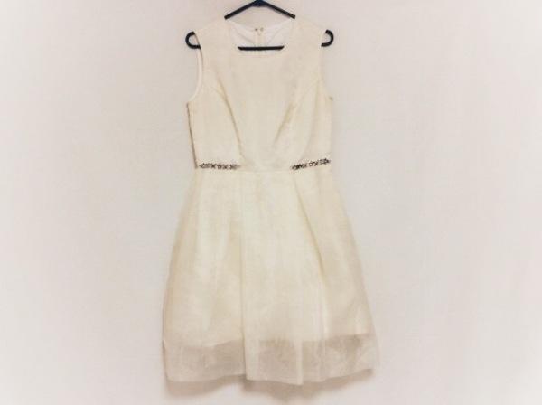 Chesty(チェスティ) ドレス サイズ1 S レディース アイボリー×クリア ビーズ