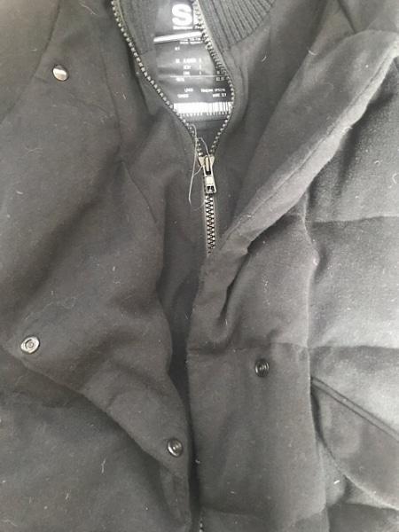 SLY(スライ) ダウンコート サイズ2 M レディース 黒 冬物
