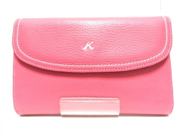 360b5bbb940a KITAMURA(キタムラ) 財布美品 ピンク レザーの中古 | KITAMURA ブランド ...
