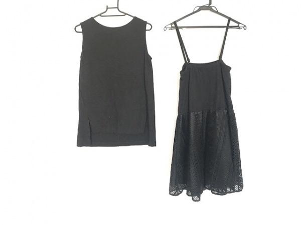 The Virgnia(ザ ヴァージニア) スカートセットアップ サイズ36 S レディース美品  黒