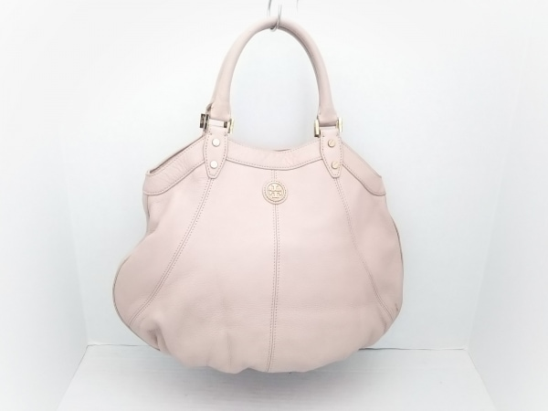 TORY BURCH(トリーバーチ) トートバッグ美品  ピンク レザー