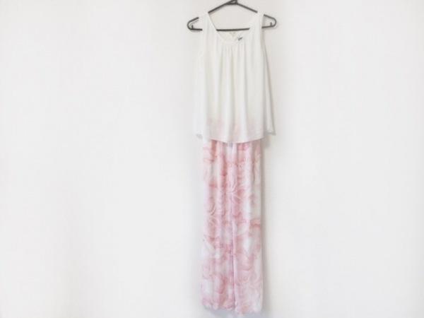 Rady(レディ) オールインワン サイズF レディース 白×ピンク 花柄