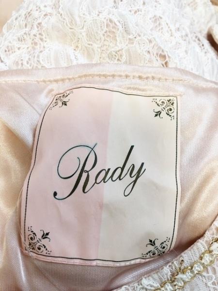 Rady(レディ) オールインワン レディース ベージュ×白×ゴールド レース