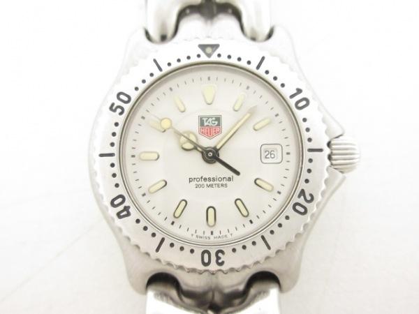 TAG Heuer(タグホイヤー) 腕時計美品  プロフェッショナル WG1312-0 レディース 白
