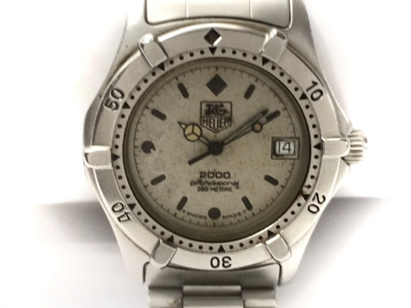 TAG Heuer(タグホイヤー) 腕時計 プロフェッショナル - レディース アイボリー