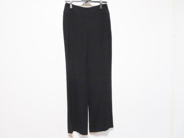 GIORGIOARMANI(ジョルジオアルマーニ) パンツ サイズ38 S レディース 黒 シルク