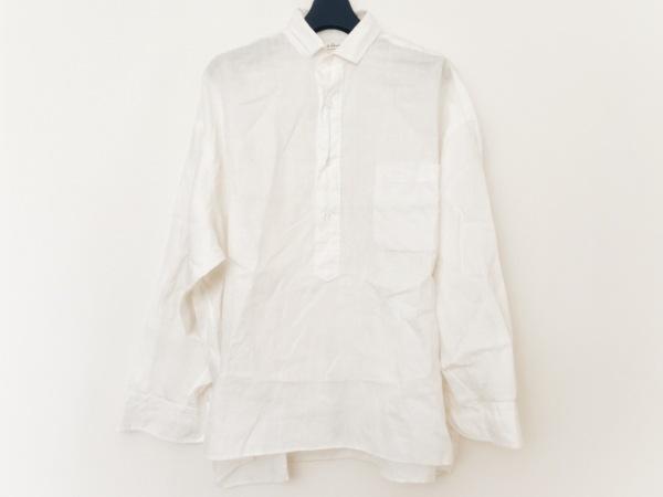 le glazik(グラジック) 七分袖ポロシャツ サイズ36 S メンズ 白
