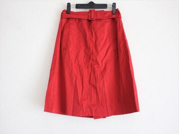 TOMORROWLAND(トゥモローランド) スカート サイズ38 M レディース レッド