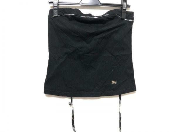 バーバリーブルーレーベル ベアトップ サイズ38 M レディース美品  黒