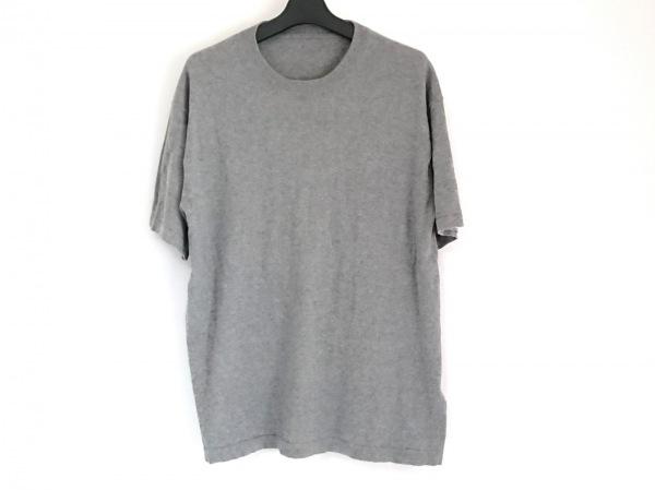 crepuscule(クレプスキュール) 半袖セーター サイズ1 S メンズ グレー