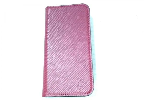 ルイヴィトン 携帯電話ケース エピ美品  IPHONE X & XS・フォリオ M64468 フューシャ