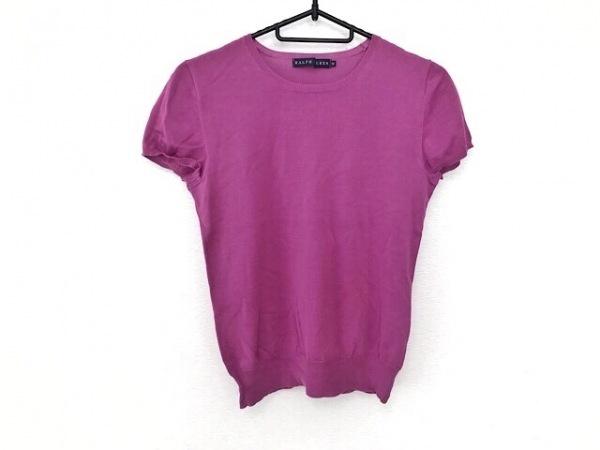 RalphLauren(ラルフローレン) 半袖セーター サイズM レディース美品  ピンク