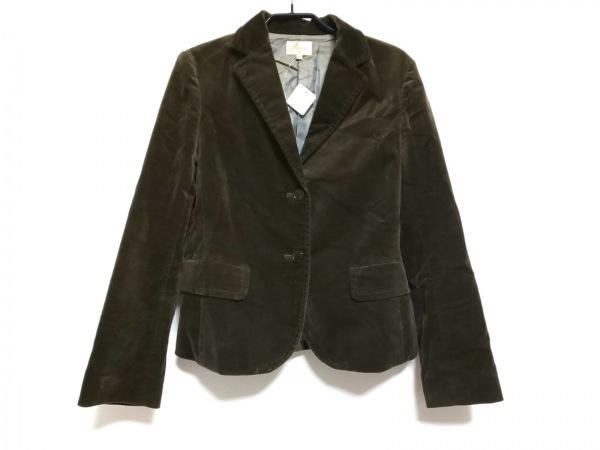 Harriss(ハリス) ジャケット サイズ38 M レディース ダークグリーン