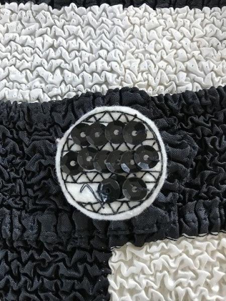 NOKO OHNO(ノコオーノ) ワンピース サイズ38 M レディース美品  アイボリー×黒
