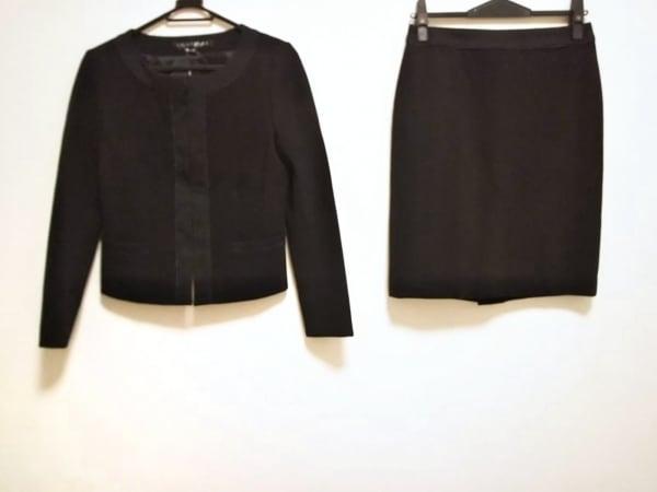 INDIVI(インディビ) スカートスーツ サイズ40 M レディース美品  黒