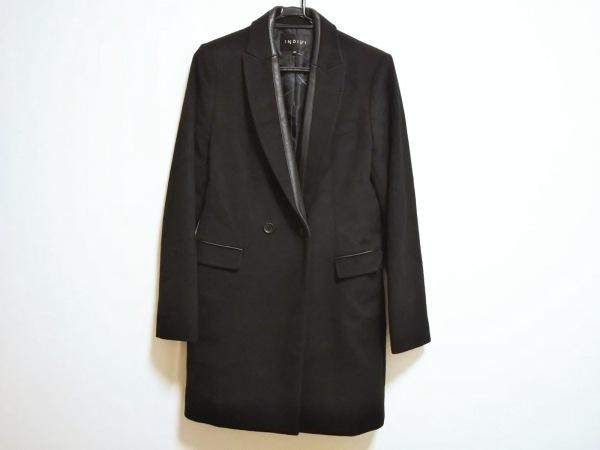 INDIVI(インディビ) コート サイズ40 M レディース美品  黒 冬物