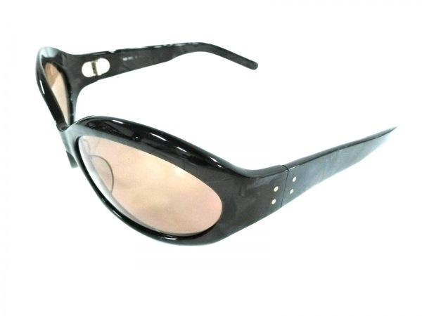 YELLOWS PLUS(イエローズプラス) サングラス 黒×ダークグレー プラスチック