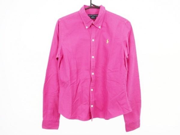 RalphLauren(ラルフローレン) 長袖シャツブラウス サイズ10 L レディース美品  ピンク