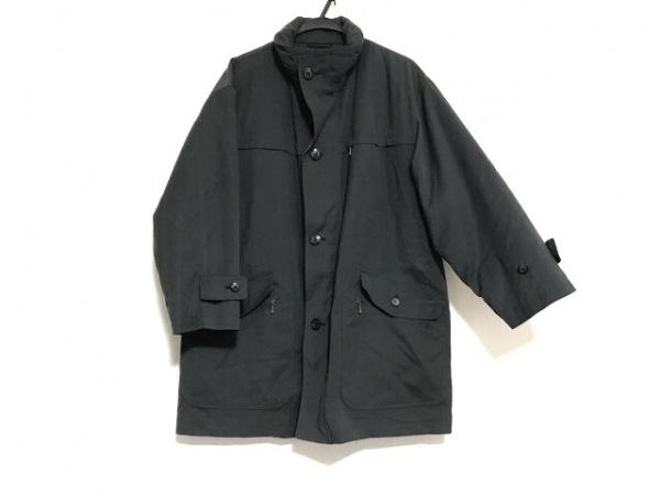 バーバリーロンドン コート サイズS メンズ ダークグレー イニシャル刻印/冬物