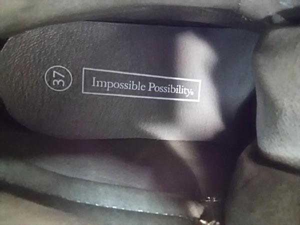 インポッシブル ポッシビリティ スニーカー 37 レディース ベージュ ハイカット