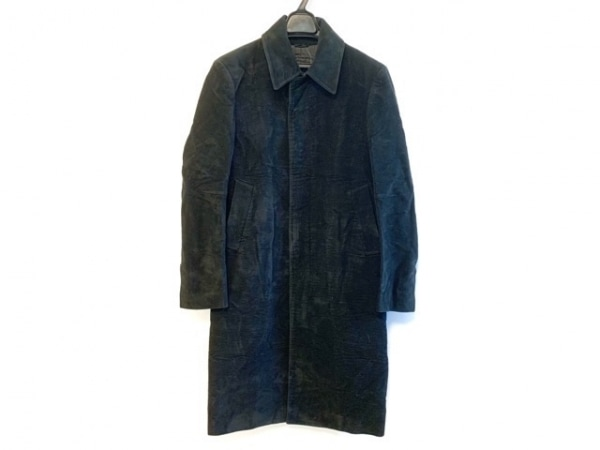 コスチュームナショナルオム コート サイズ44 L メンズ 黒 冬物