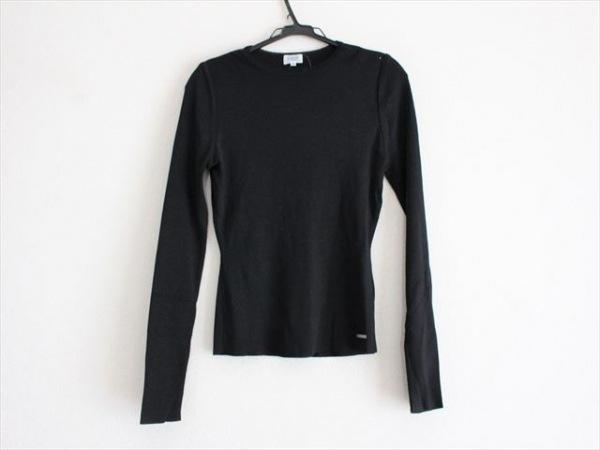 FOXEY(フォクシー) 長袖セーター サイズ40 M レディース美品  黒 肩パッド