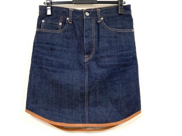 SCYE(サイ) スカート サイズ36 S レディース美品  ネイビー デニム/BASICS