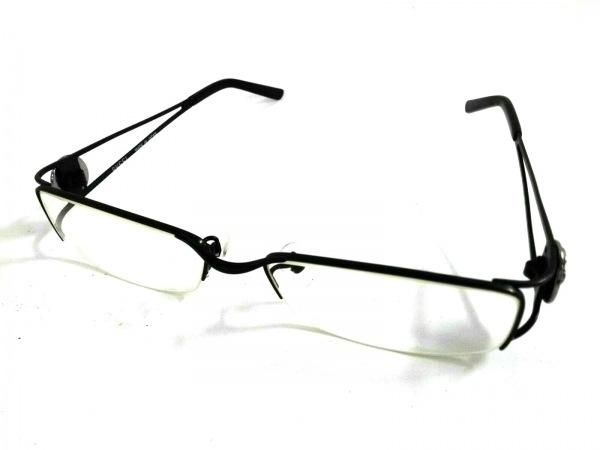 GUCCI(グッチ) メガネ - GG9643J クリア×黒×シルバー プラスチック×金属素材