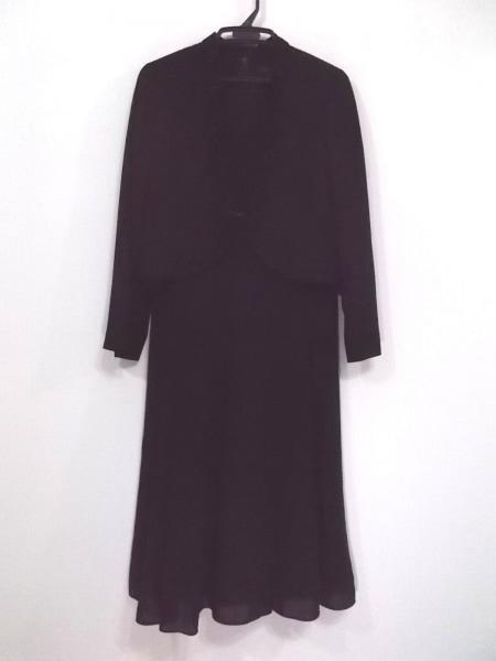YUKITORII(ユキトリイ) ワンピーススーツ サイズ13 L レディース美品  黒